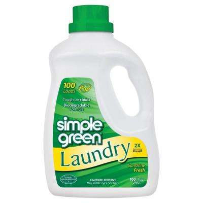 100 oz. Sunshine Fresh Laundry Detergent