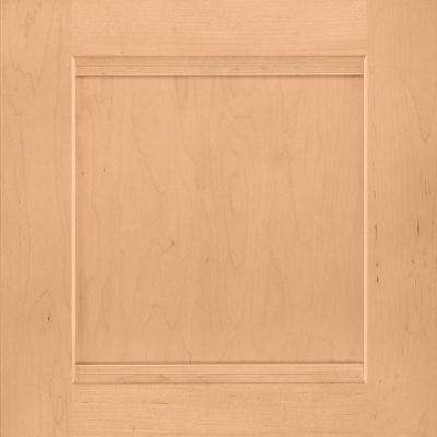 14-1/2x14-9/16 in. Cabinet Door Sample in Del Ray Maple Honey