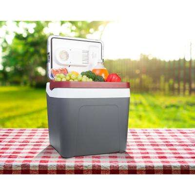 26 Qt  (24 L) Portable Thermoelectric Cooler