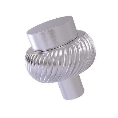 1-1/2 in. Cabinet Knob in Satin Chrome