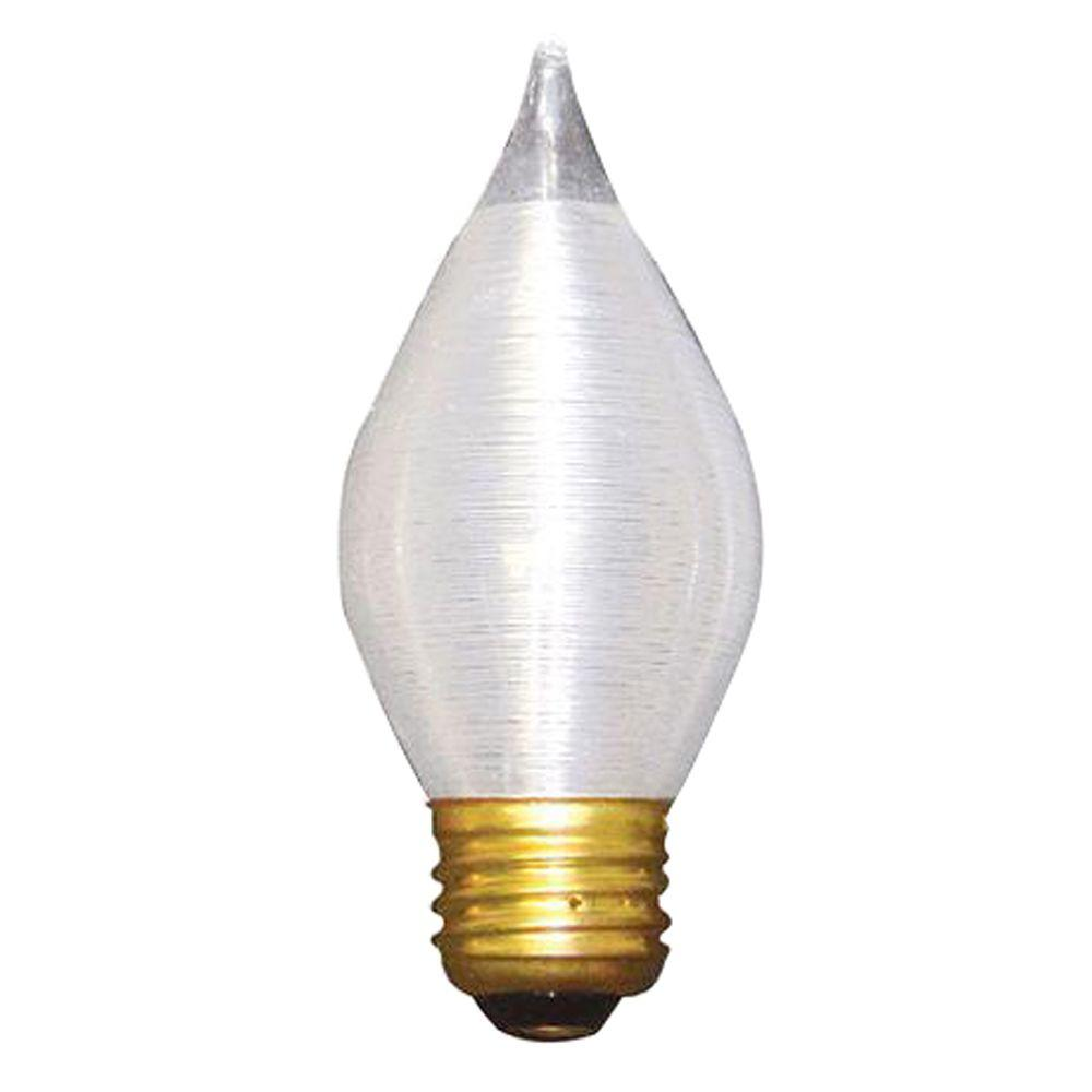 Bulbrite 60-Watt Incandescent Torpedo/C15 Light Bulb (10-Pack)