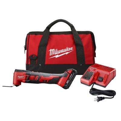 M18 18-Volt Lithium-Ion Cordless Oscillating Multi-Tool Kit with one 1.5 Ah Battery & Charger