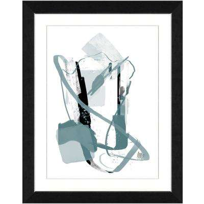 22 in. x 28 in. Calming grays I Framed Archival Paper Wall Art