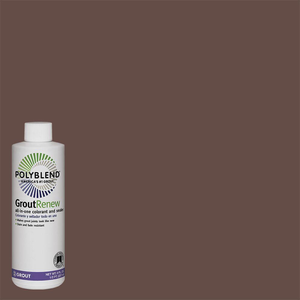 Polyblend #95 Sable Brown 8 fl. oz. Grout Renew Colorant