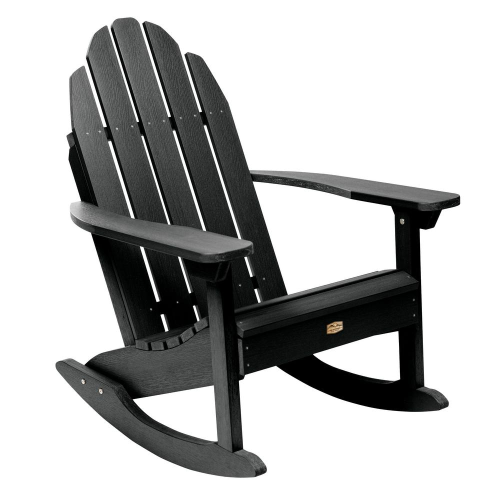 competitive price b14b1 418b4 ELK OUTDOORS® Essential Abyss Recycled Plastic Outdoor Adirondack Rocking  Chair