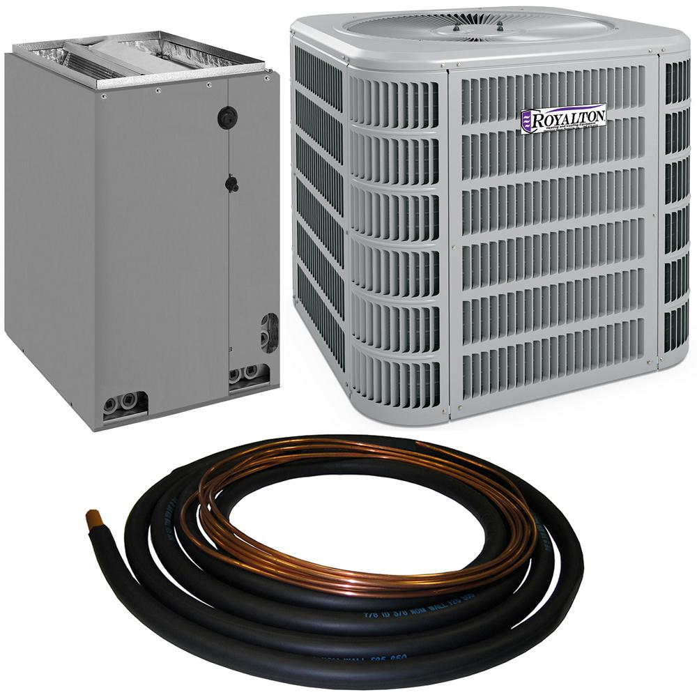 Royalton 4 Ton 13 Seer R 410a Residential Split System Central Air Conditioning System 4ac13l48p The Home Depot
