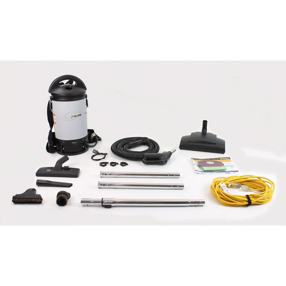 Sierra Commercial Backpack Vacuum Cleaner 32MM Tools and Wessel Werk Power Head Kit