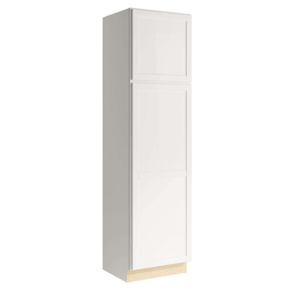 Cardell Pallini 24 in. W x 90 in. H Linen Cabinet in Lace