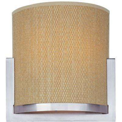 Elements 2-Light Satin Nickel Sconce