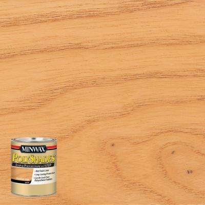 8 oz. PolyShades Classic Oak Satin Stain and Polyurethane in 1-Step (4-Pack)
