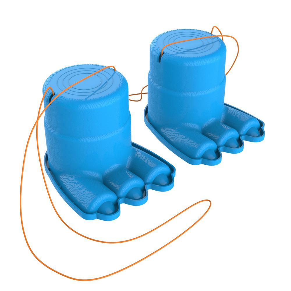 Monster Feet Stilts with Adjustable Nylon Rope for Kids