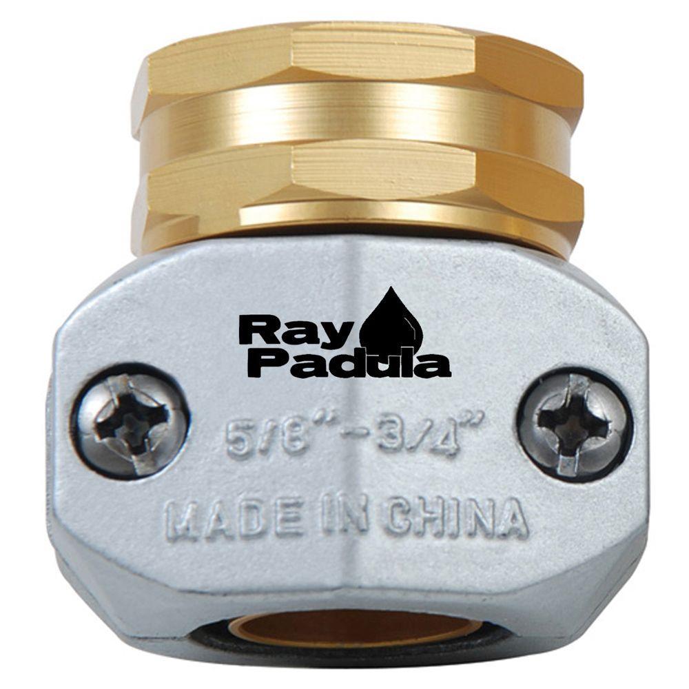 Ray Padula 5/8 in. - 3/4 in. Industrial Metal Female Thread Garden Hose Repair