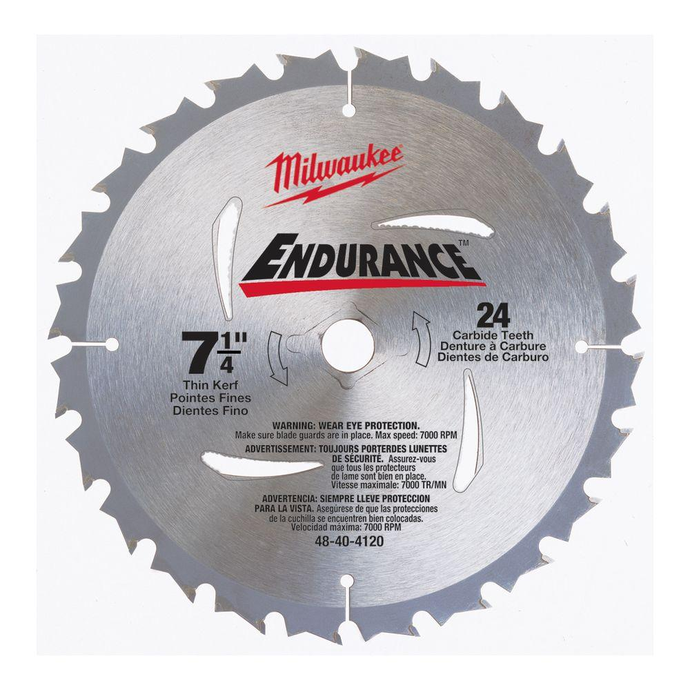 7 14 milwaukee circular saw blades saw blades the home depot 7 14 in x 24 carbide tooth circular saw blade greentooth Image collections