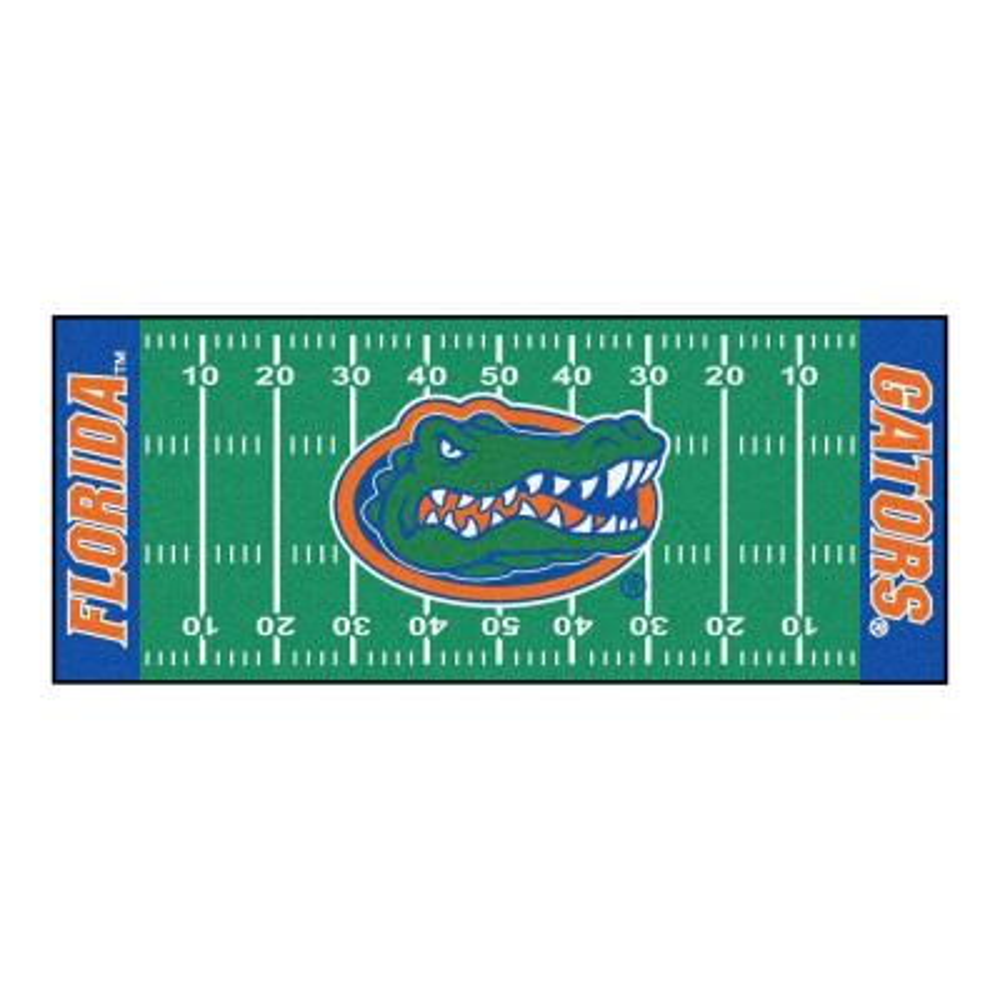 University of Florida 3 ft. x 6 ft. Football Field Runner Rug