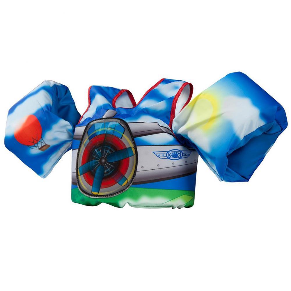 Body Glove Paddle Pals Plane Motion Life Jacket, Multi-Co...