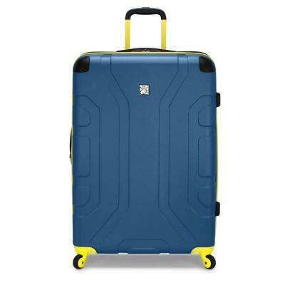 Sky High 29 in. Teal Expandable Hardside Spinner