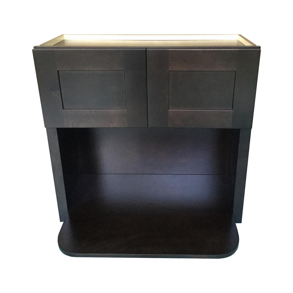Microwave Wall Cabinet With Storage