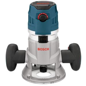 Bosch 15 Amp Corded Electronic 3-1/2 inch 2.3 Horse Power Variable Speed Fixed Base Router... by Bosch