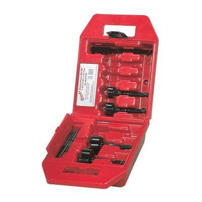 Selfeed High-Speed Steel Wood Boring Bit Set  (4-Piece)