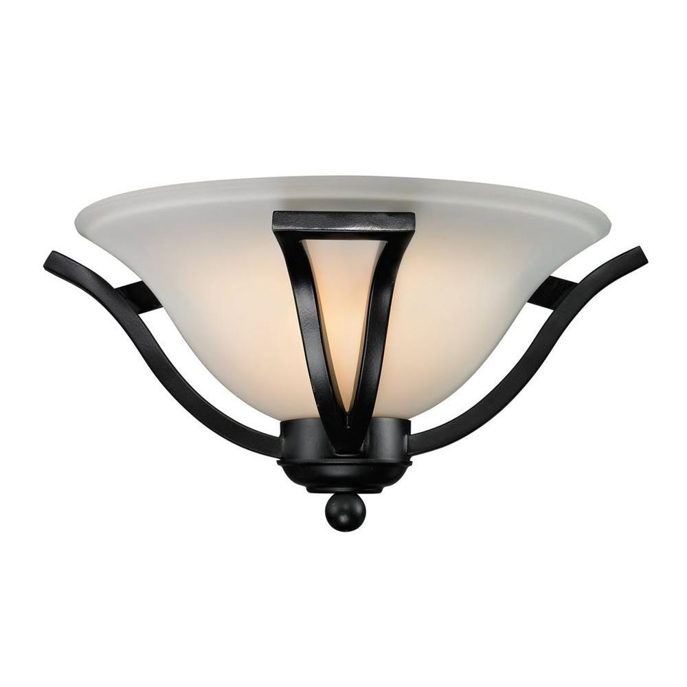Filament Design Lawrence 1-Light Bronze Incandescent Sconce