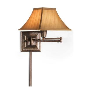 Home Decorators Collection Gold Kingston Swing-Arm Pin-Up Lamp by Home Decorators Collection