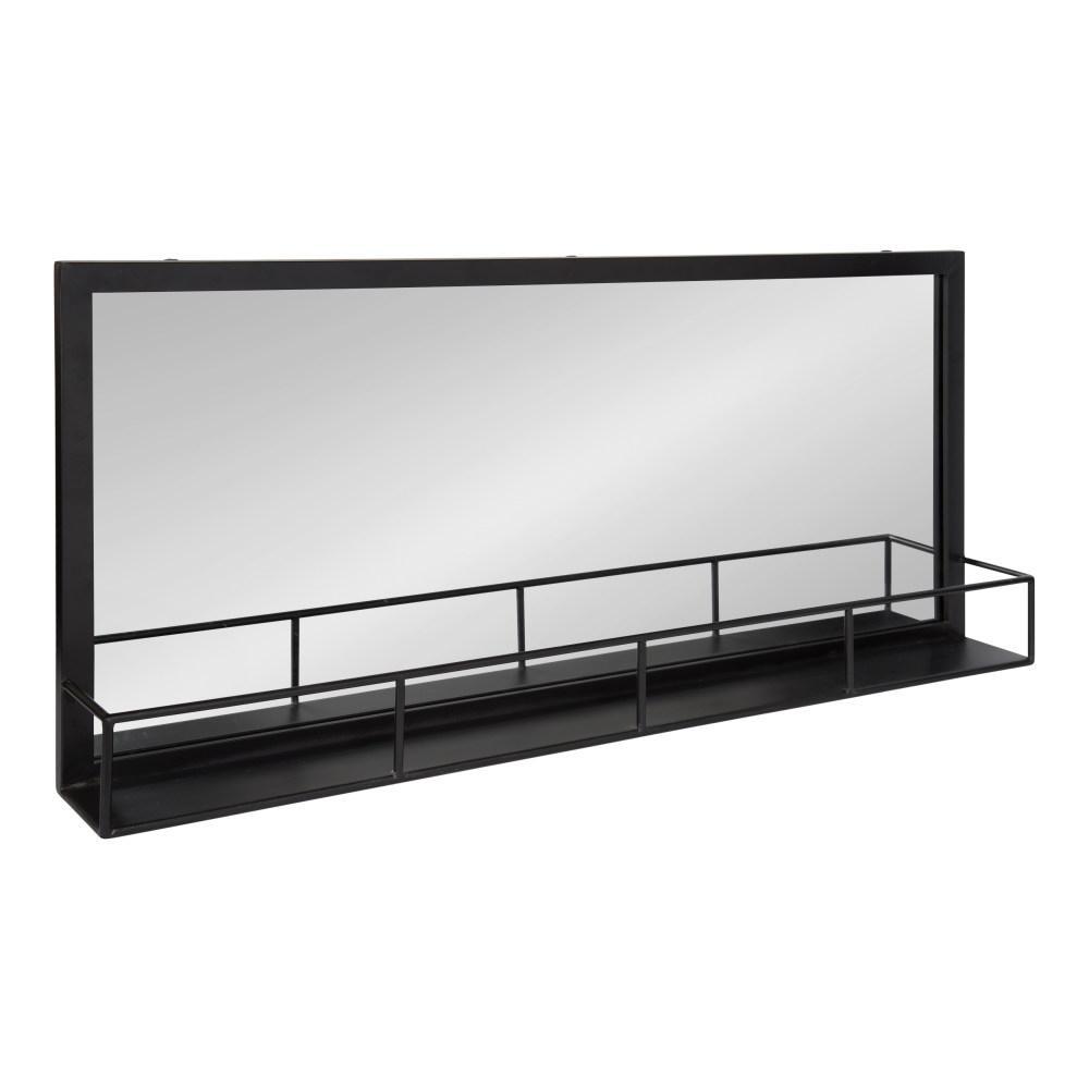 Jackson Rectangle Black Wall Mirror