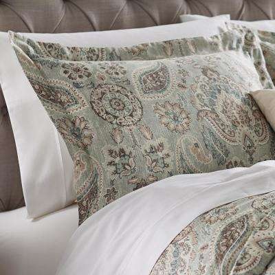 Plazzo Geyser Euro Pillow Sham