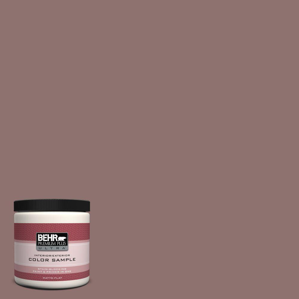 BEHR Premium Plus Ultra 8 oz. #720B-5 Bitter Briar Interior/Exterior Paint Sample