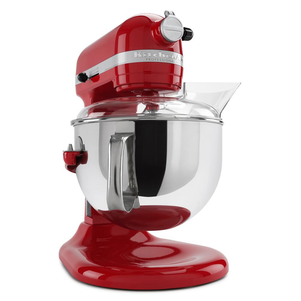 KitchenAid Professional 600 Series 6 Qt. 10-Speed Empire Red ...