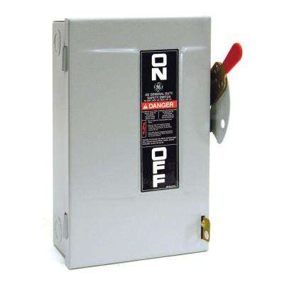 30 Amp 240-Volt Non-Fuse Indoor Safety Switch