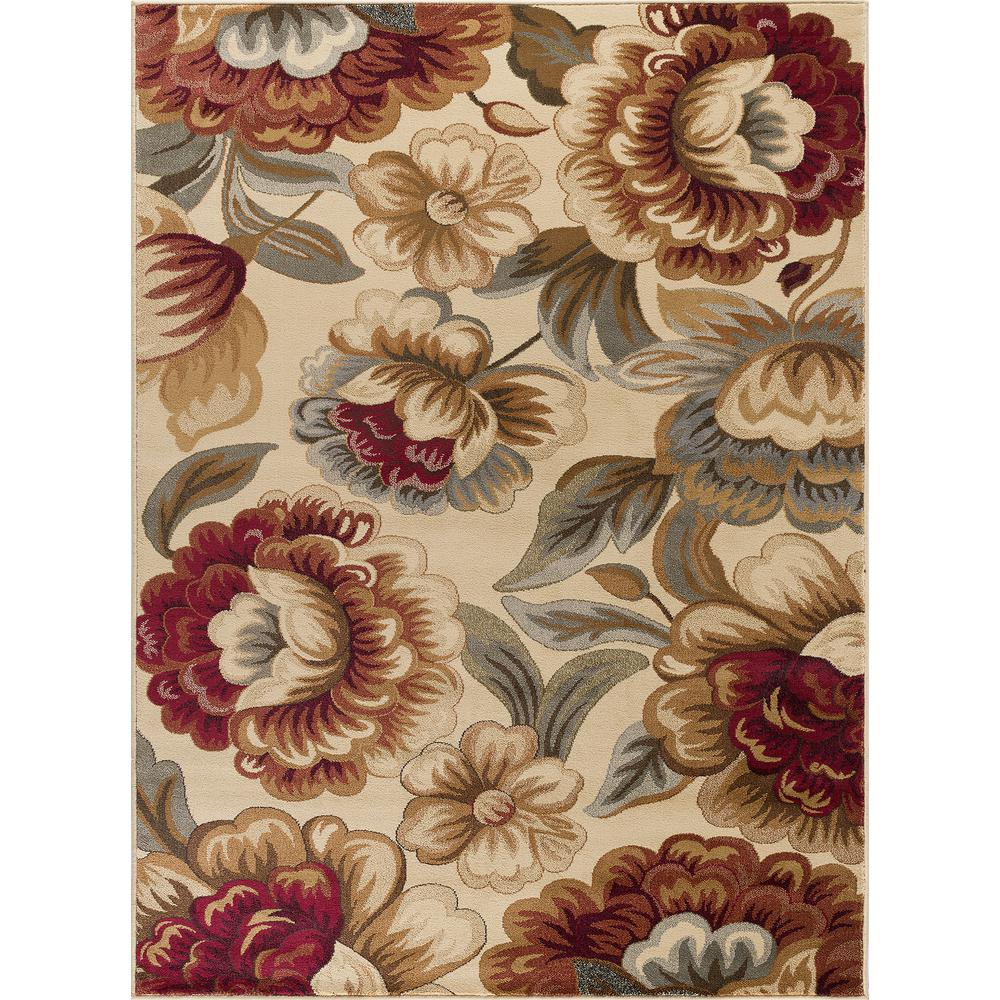 Impressions Ivory 7 ft. 10 in. x 10 ft. 3 in.