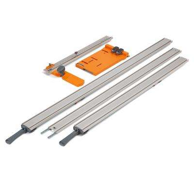 WTX Clamping Straight Edge (5-Piece) with Saw Plate and Rip Handle