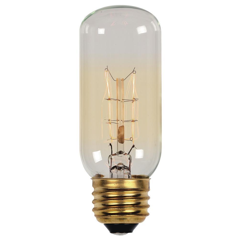 40-Watt Timeless Vintage Inspired Incandescent T12 Light Bulb