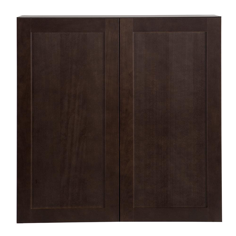 Cambridge Pantry Cabinets In Dusk: Hampton Bay Cambridge Assembled 36x36x12 In. Wall Cabinet