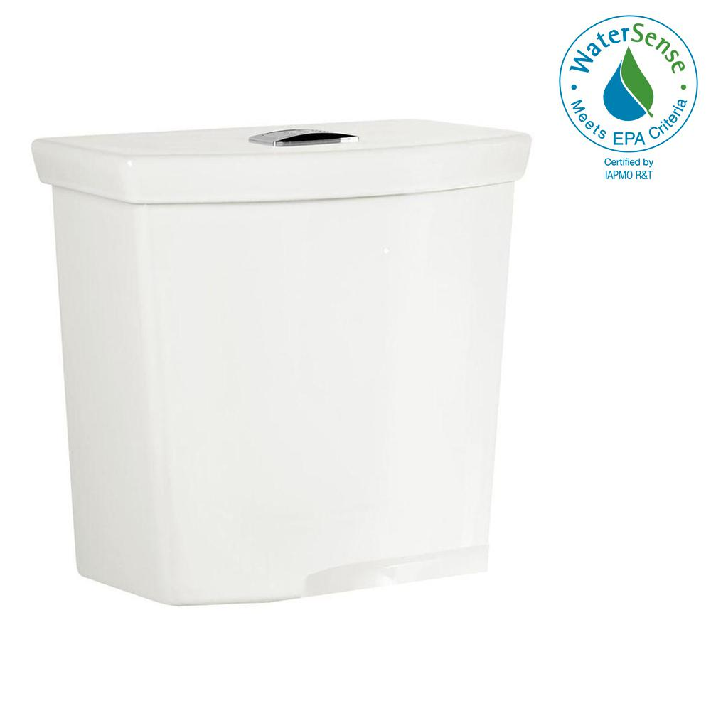 H2Option 0.92/1.28 GPF Dual Flush Toilet Tank Only with Liner in