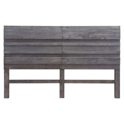 Cavin Old Gray King Headboard