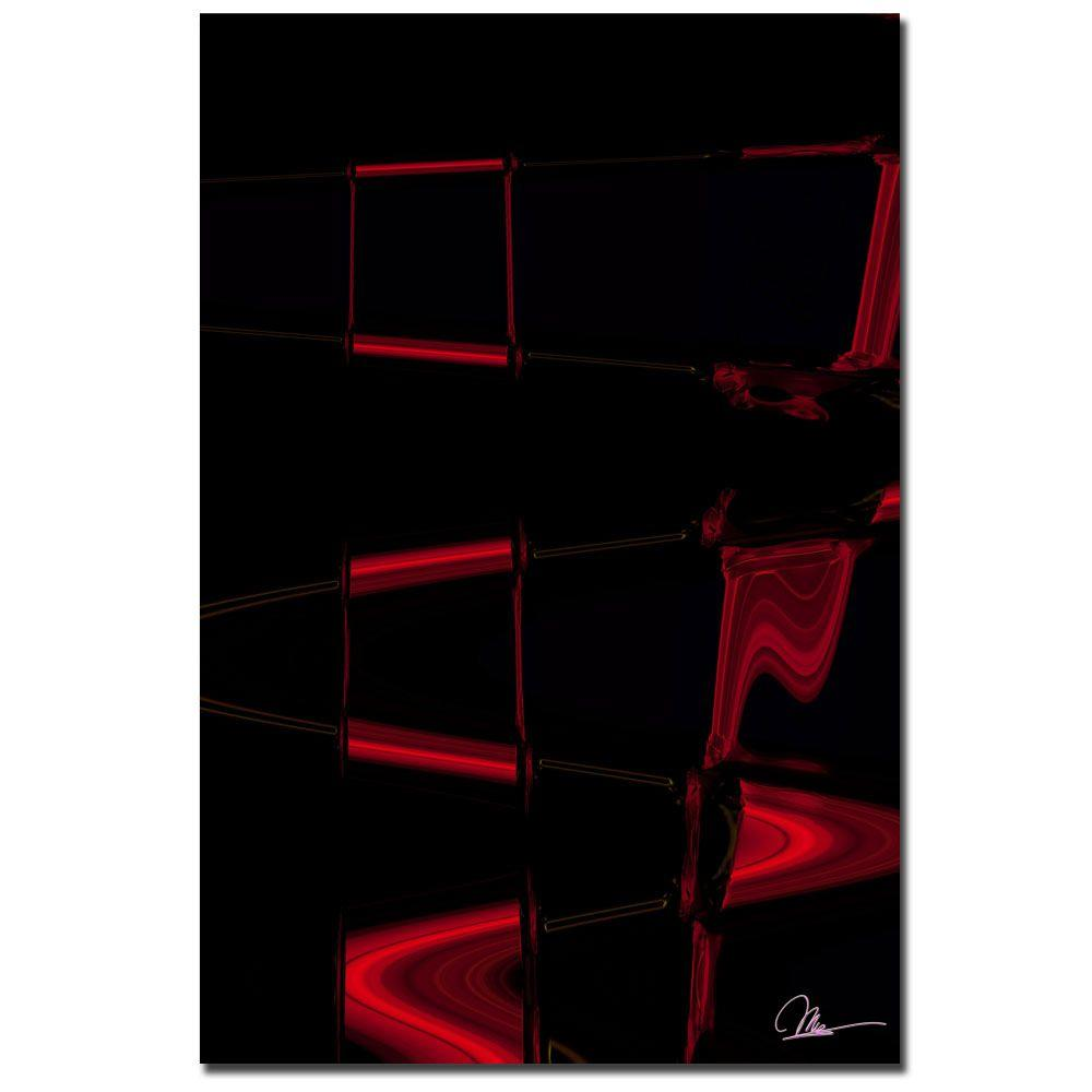 Trademark Fine Art 24 in. x 16 in. Abstract I Canvas Art