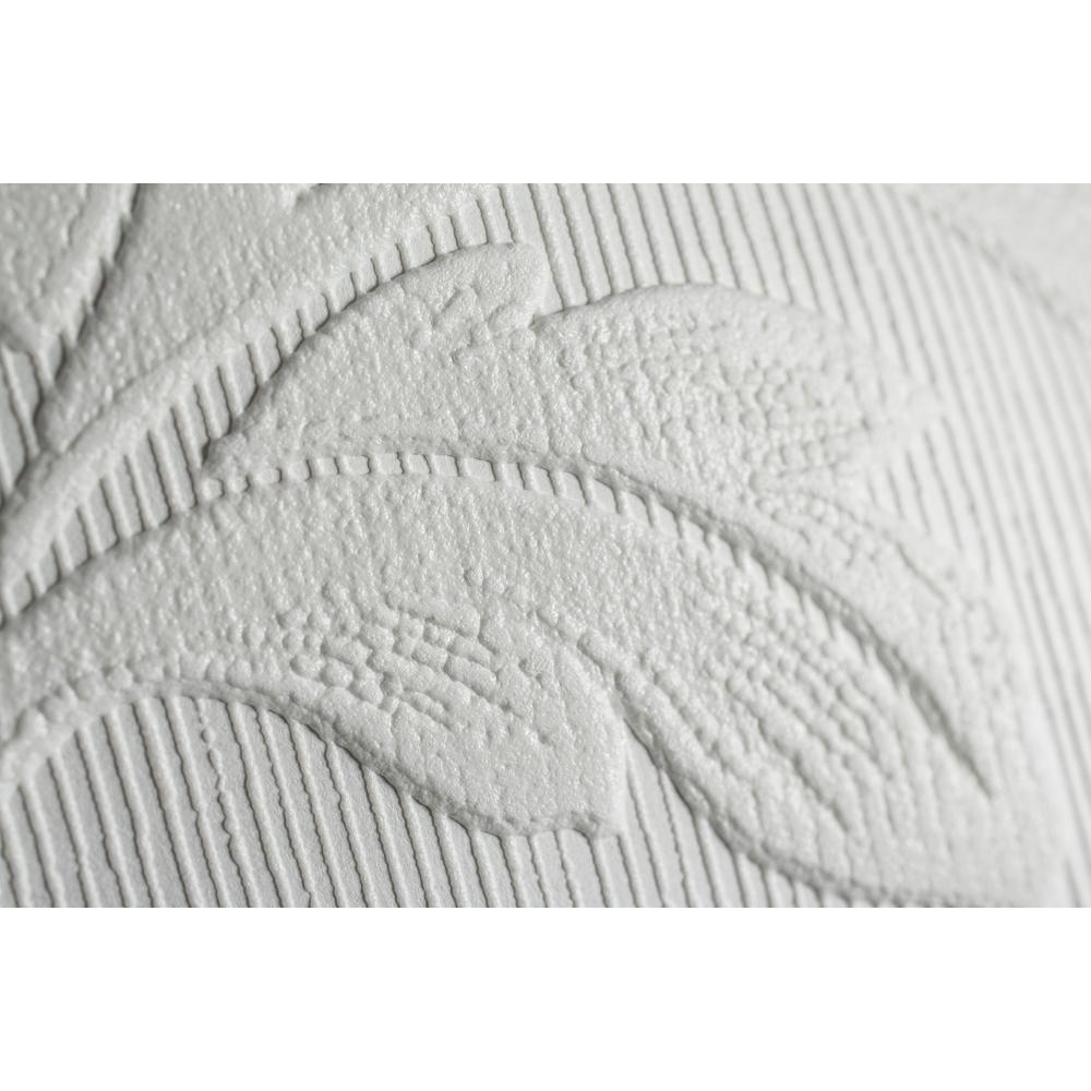 Graham /& Brown Super Fresco Paintable Leaves Wallpaper 15069