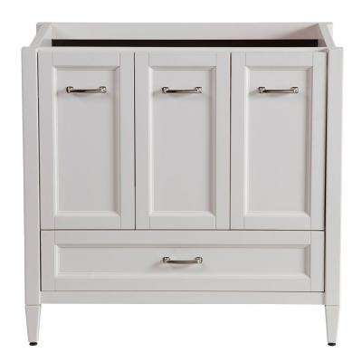 Claxby 36 in. W Bath Vanity Cabinet Only in Cream