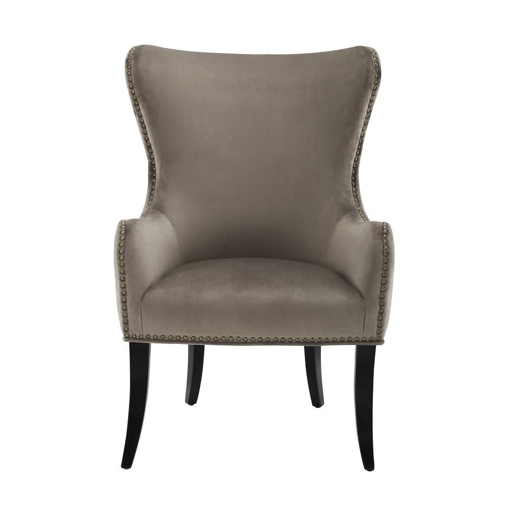 Fayette Beige Round Back Chair