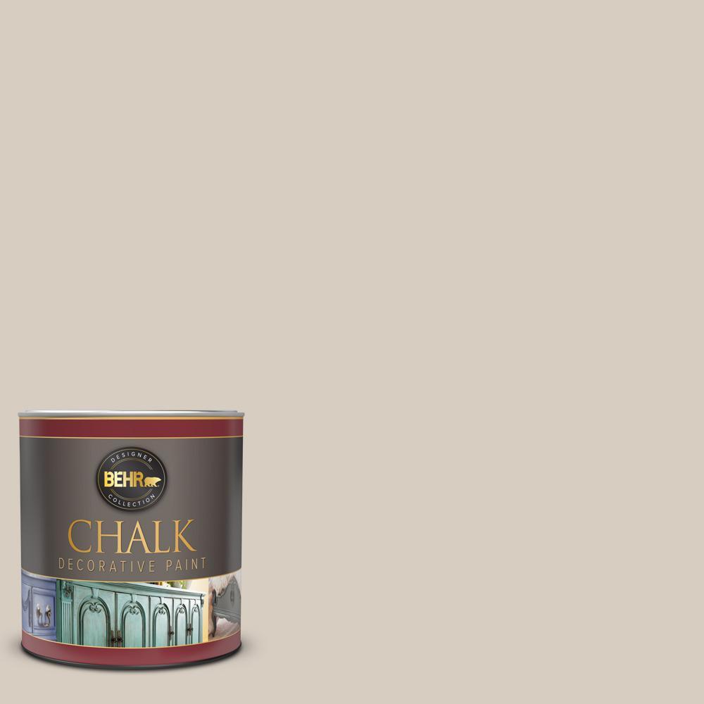 1 qt. #PPU7-09 Aged Beige Interior Chalk Decorative Paint