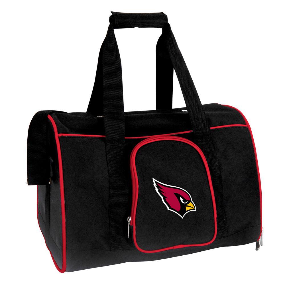 NFL Arizona Cardinals Pet Carrier Premium 16 in. Bag in Red