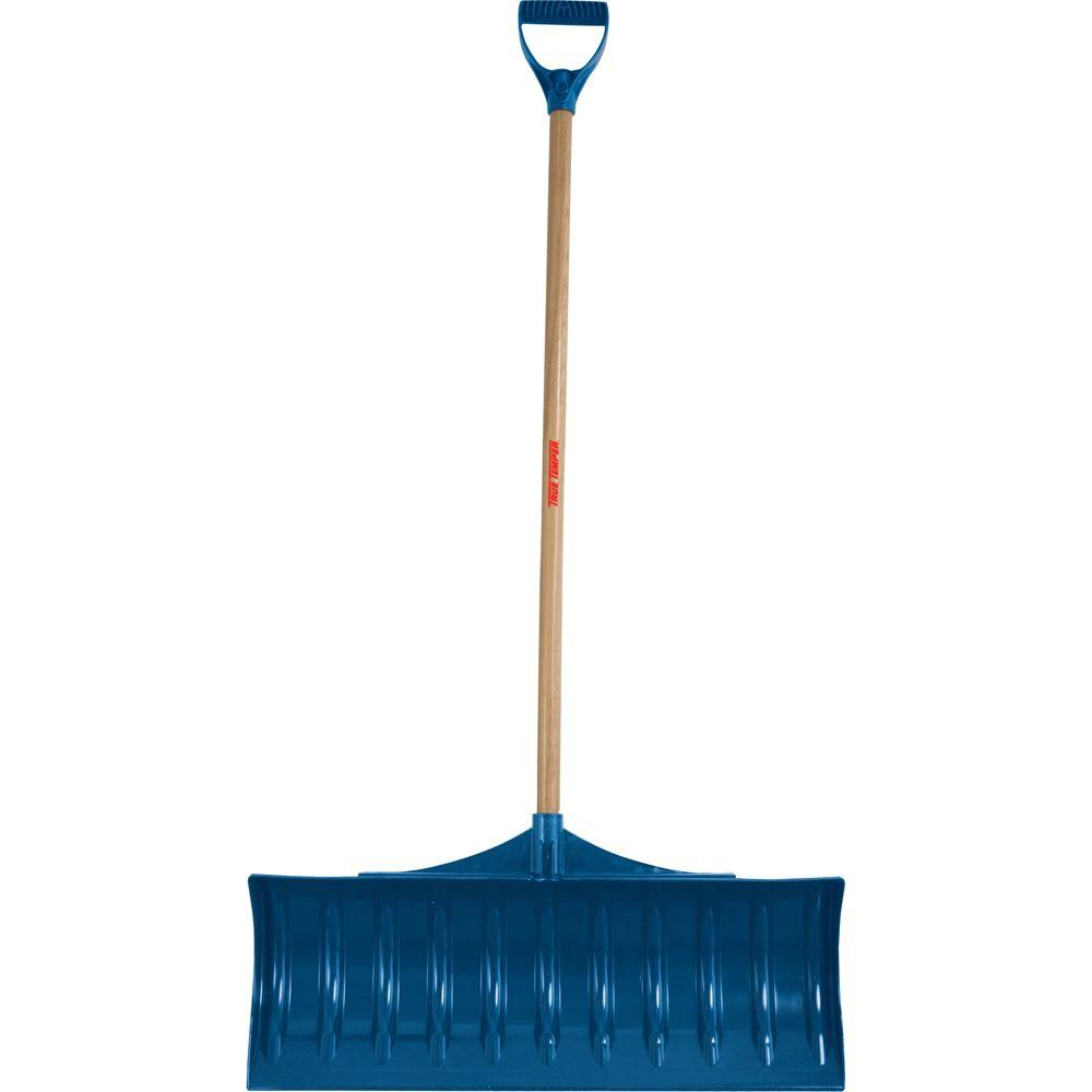 True Temper 30 in. Poly Snow Shovel-DISCONTINUED