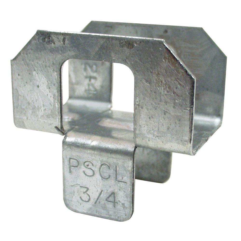 3/4 in. 20-Gauge Plywood Sheathing Clip (250-Pack)
