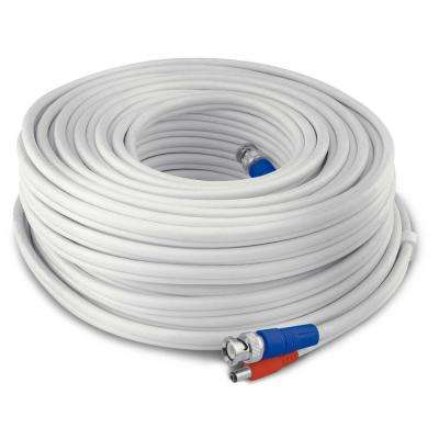 60 m/200 ft. BNC Extension Cable Wide Compatibility 960H/AHD/TVI