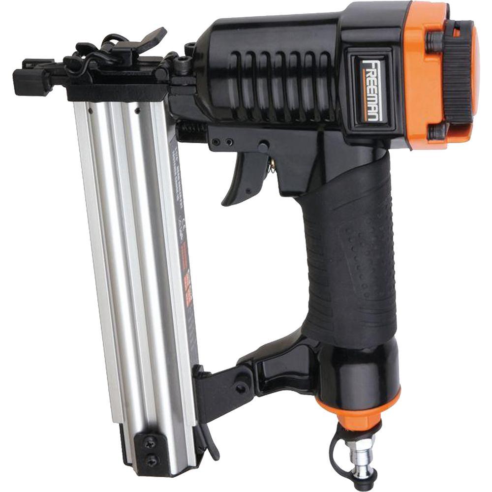 Freeman 1-1//4 in Brad Nailer Air Compressor Tool Nail Gun  Safety Kit Accessory