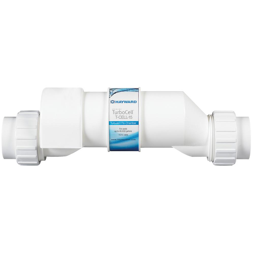 AquaRite Turbo Cell Salt Chlorination Cell for 40,000 Gal. In-Ground Pools