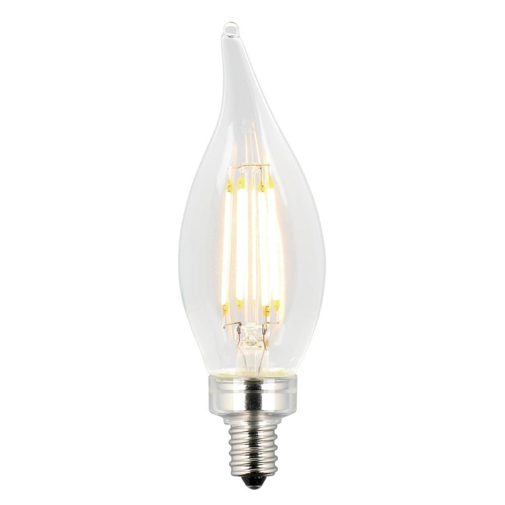 Westinghouse 40w Equivalent Amber St20 Dimmable Filament: Westinghouse 40W Equivalent Soft White CA11 Dimmable