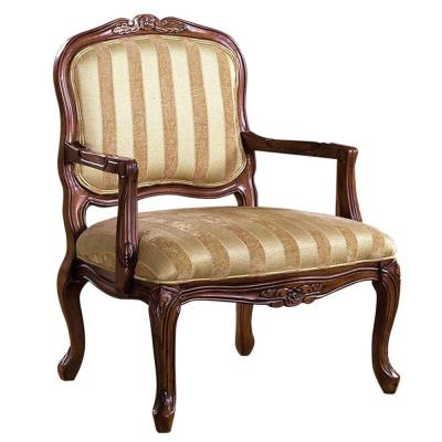 Antique Oak Traditional Occasional Chair