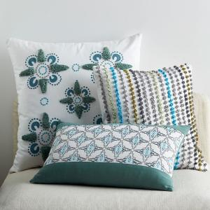 Remarkable Whistler Patch Multicolored Floral Embroidered 26 In X 26 In Euro Throw Pillow Cover Inzonedesignstudio Interior Chair Design Inzonedesignstudiocom